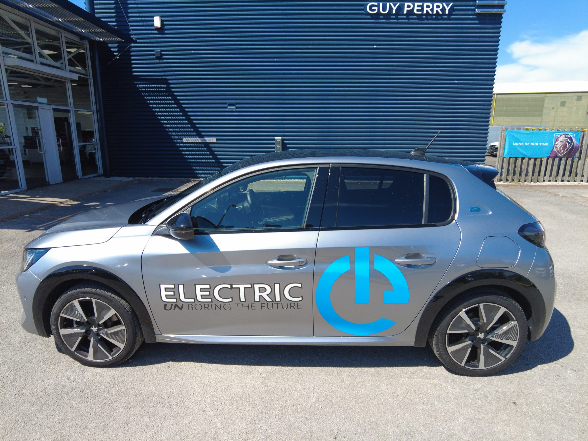 New Peugeot e-208 GT 50kwh Electric